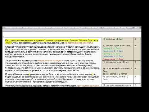 ЕГЭ по русскому языку - 2019. Разбор сочинения по новым критериям