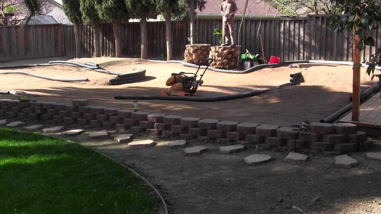 Backyard RC Track - B4.2 Practice, New Layout - YouTube