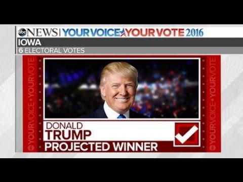 Trump Wins Iowa   2016 Election Results