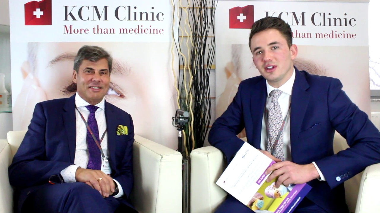 Dr Jerzy Kolasiński, M D ,Ph D  at KCM Clinic during Plastic Surgery  Conference 2019