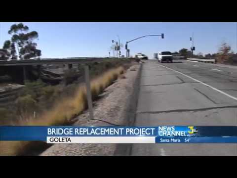 Los Carneros Bridge Over Railroad to Begin Rehab
