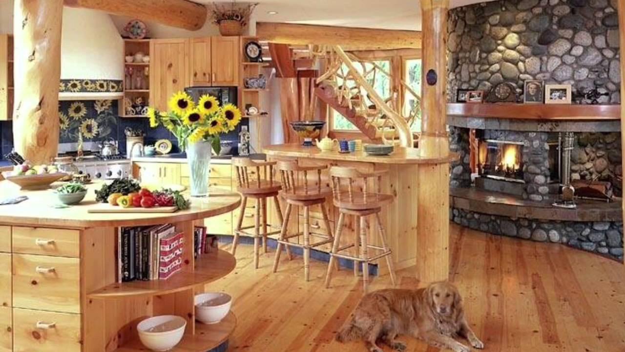 Log Home Interior Design Tips   YouTube