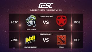 WELCOME NAVI to INDONESIA!!!  @GESC Championship Jakarta Minor - CIS Qualifier - FINAL