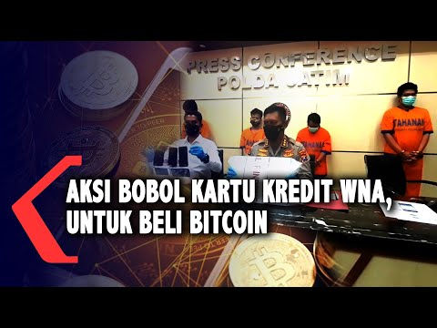 Komplotan Ini Bobol Kartu Kredit WNA Untuk Beli Bitcoin