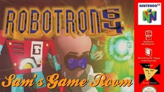 Sam's Game Room- Robotron 64