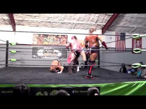 Clutch Adams/Mike Spanos vs Grey Wolfe/Red Scorpion Paulsboro, NJ 10/04/14 Part 1 of 2