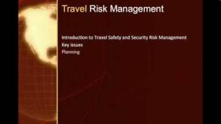 Travel Safe: What you NEED to know about travel safety and security risk management with Tony Ridley