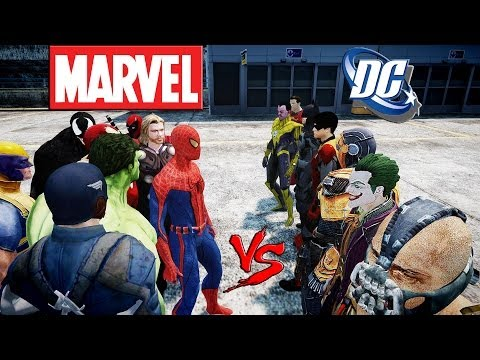 Marvel vs DC - KjraGaming Channel Trailer