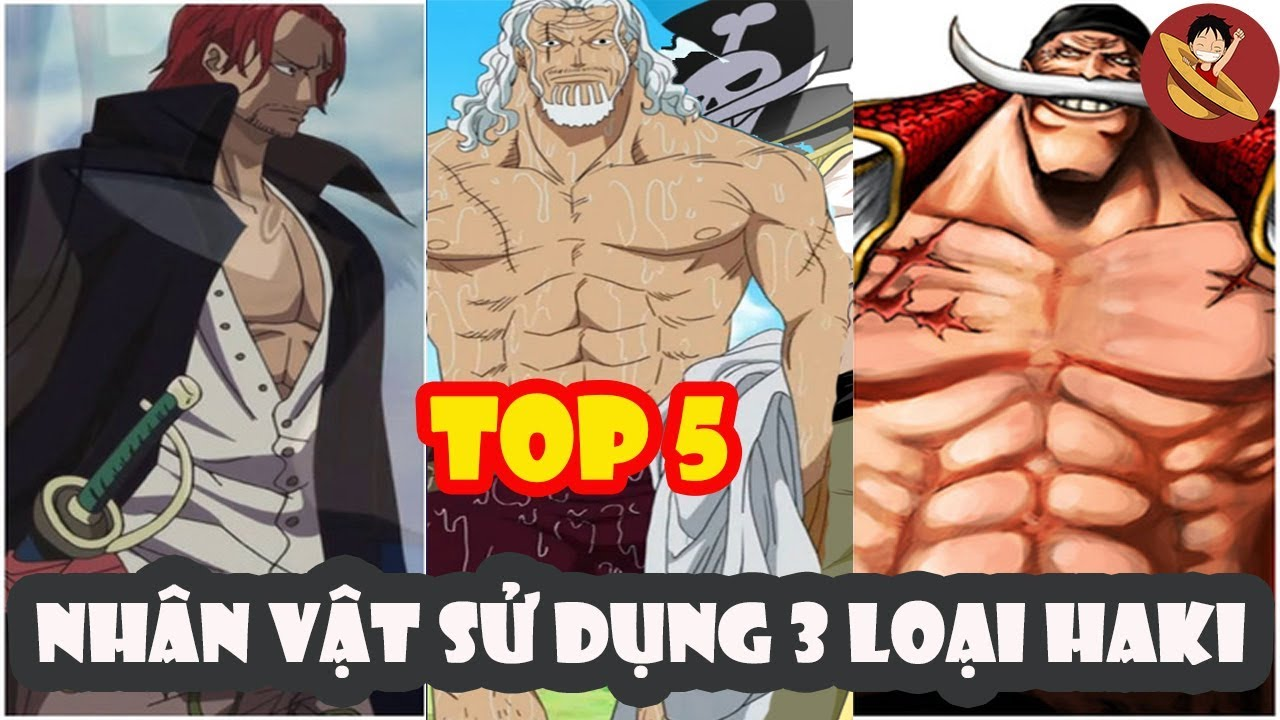 Top 5 nhân vật sử dụng 3 loại haki trong One Piece - Top Anime Hay - YouTube
