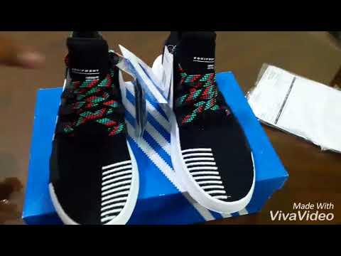 95e72818331 ADIDAS EQT Basketball ADV + Unboxing - YouTube