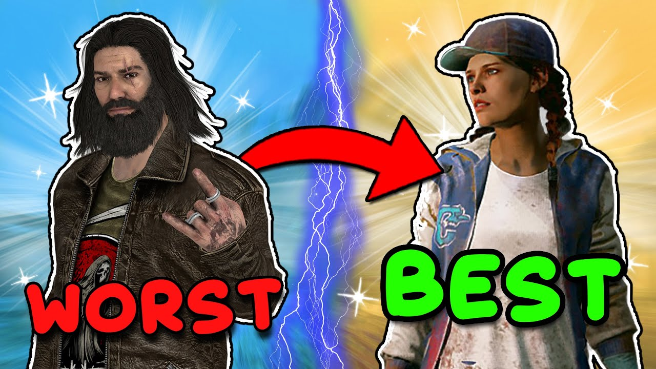 Download RANKING EVERY SURVIVOR FROM WORST TO BEST (Dead by Daylight)