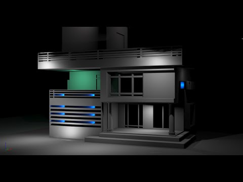 How to model simple house 3ds max tutorial part 2 for Home design 3d mac tutorial