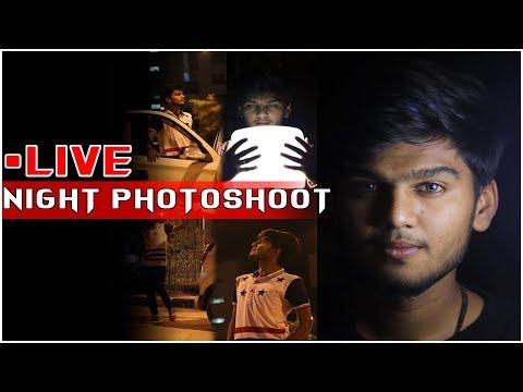 Live Photoshoot | Night Photography | Pose Like a Fashion Model | Ronnyy Prajapati