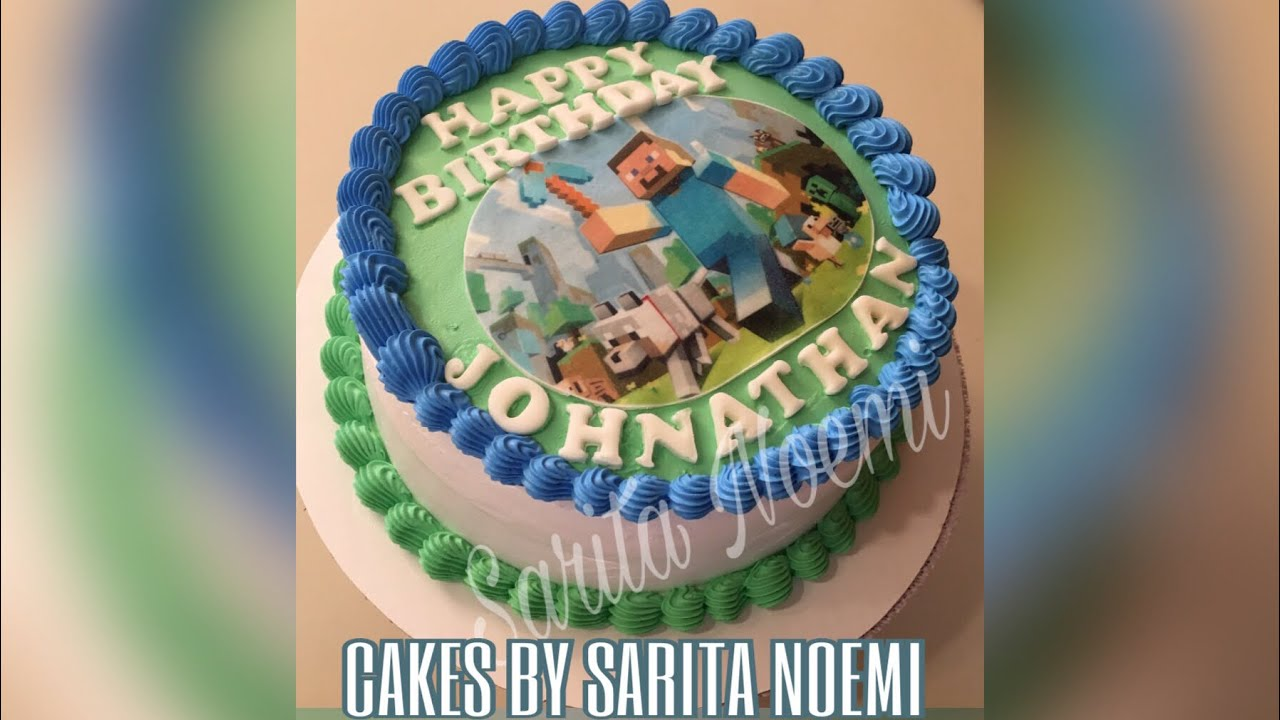 Minecraft Cake Pastel De Minecraft Pastel 3 Leches