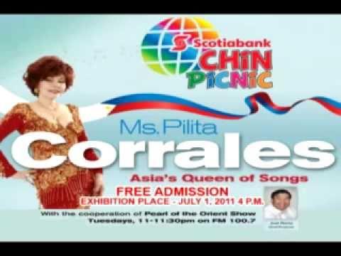 Ms. Pilita Corrales at Scotia Bank CHIN Radio-TV International Picnic.mov