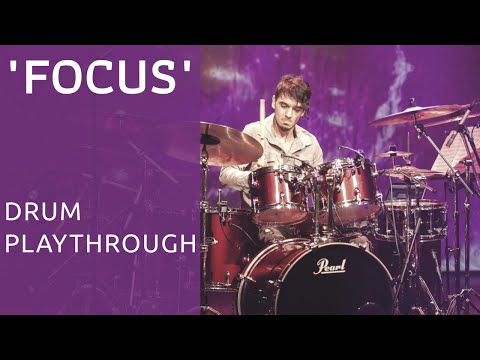 BRUNO VALVERDE - FOCUS - DRUM PLAYTHROUGH