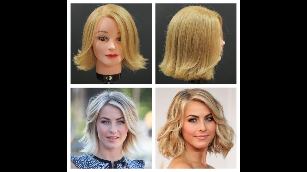 Julianne Hough Haircut Tutorial Thesalonguy Youtube