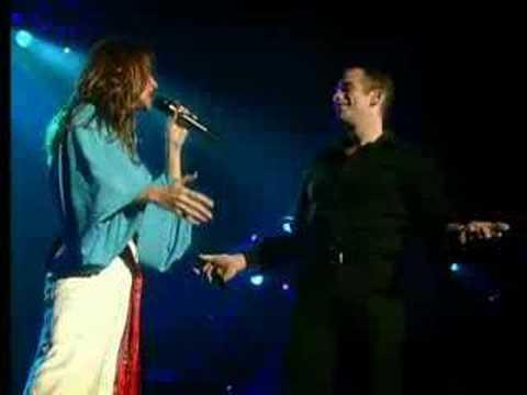 Garou & Celine Dion - Sous le vent (live Bercy)