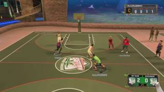 NBA 2k17 My Park-My First Ever Park Game! Full Live Commentary! NBA 2k17 My Park Mode