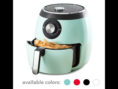 Dash Deluxe Electric Air Fryer Oven Cooker REVIEW