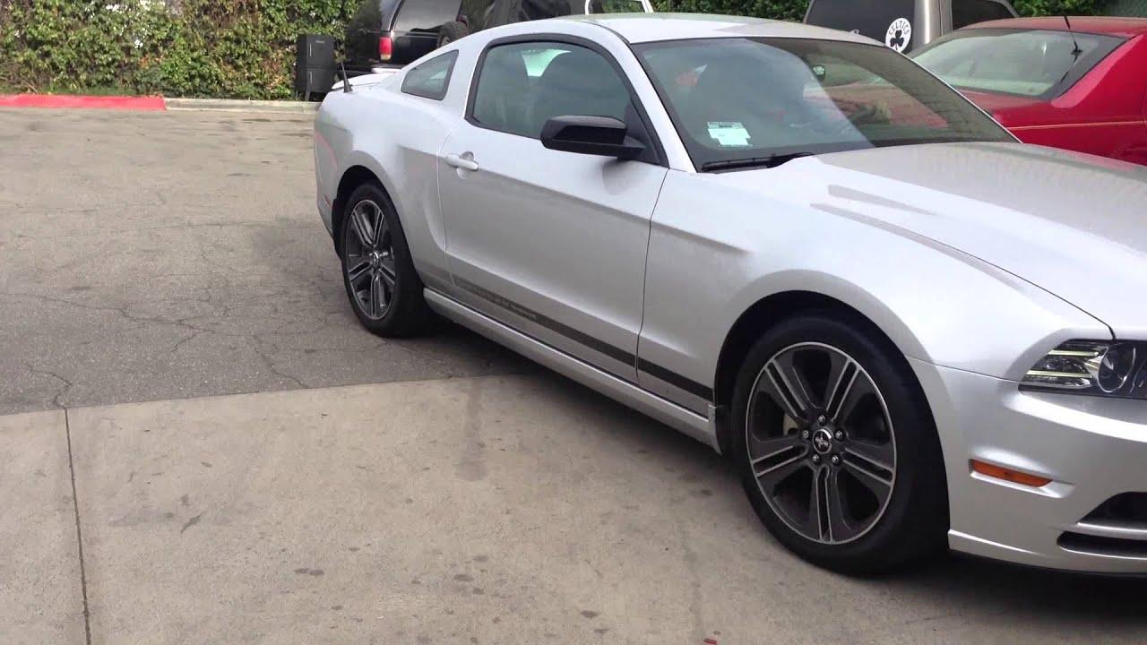2013 Mustang V6 3 7 With Mrt Interceptor Exhaust Youtube