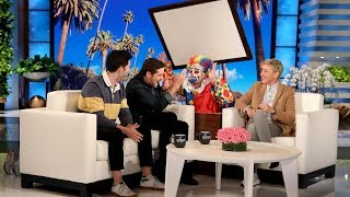 Ellen Can't Stop Scaring These Two Best Friends