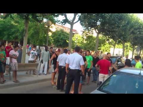 Mataró. Barri d'El Palau. 1 d'agost 2013.