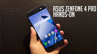 ASUS Zenfone 4 Pro Hands-On