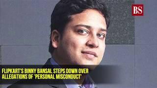 Flipkart's Binny Bansal steps down over 'personal misconduct' allegations