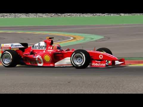 Assetto Corsa - 2002-2015 Formula 1 Hotlap Comparison
