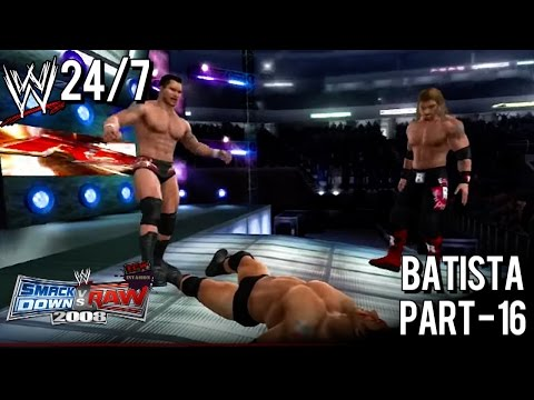 WWE Smackdown vs Raw 2008: (24/7 Mode) Batista - 16