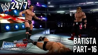 WWE Smackdown vs Raw 2008: (24/7 Mode) Batista - 16