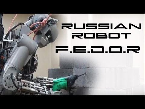 Russian Android Robot FEDOR - Behold The Future