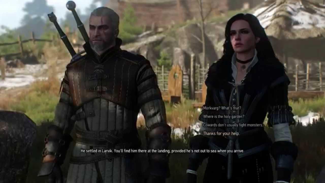 The Witcher 3 Freya 39 S Garden Youtube