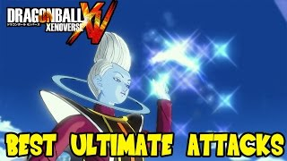 Dragon Ball Xenoverse: Best Ultimate Attacks - Super Electric Strike & Symphonic Destruction