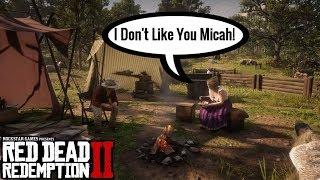 Karen doesn't like Micah | Red Dead Redemption 2
