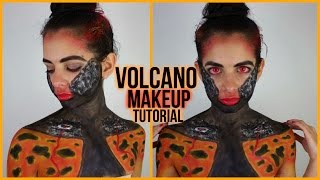 Volcano Inspired Makeup Tutorial | NYX Face Awards 2015 Entry