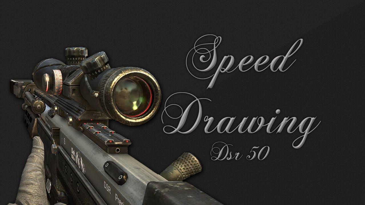 Black ops 2 dsr 50 drawing