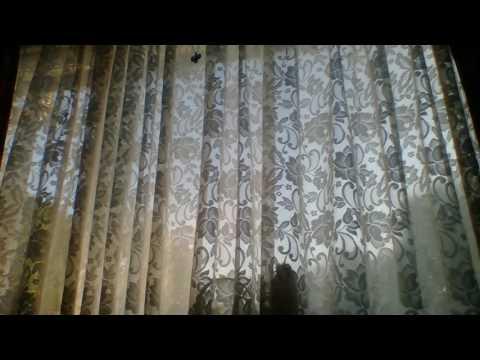 Window net curtains