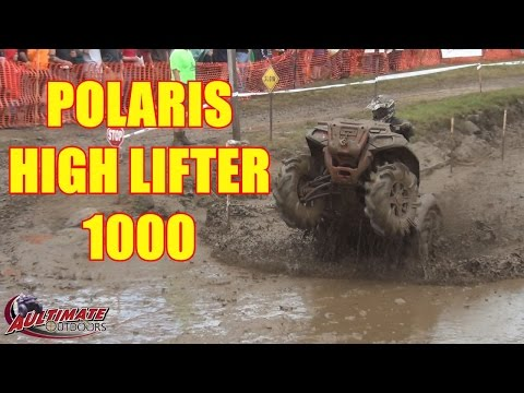 2016 POLARIS SPORTSMAN HIGH LIFTER 1000 IN ACTION AT JERICHO ATV FESTIVAL MUD BOG