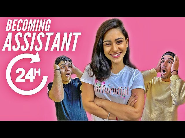 BECOMING PERSONAL ASSISTANT FOR 24 HOURS | Rimorav Vlogs