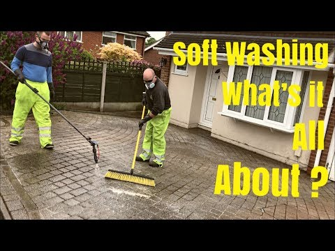 Beginners Guide To Soft Washing. Window Cleaning Add On