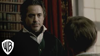Sherlock Holmes: A Game Of Shadows | Meeting Moriarty | Warner Bros. Entertainment