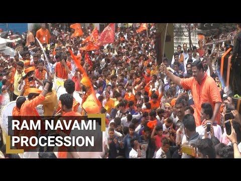 Ram Navami Shoba Yatra in Hyderabad
