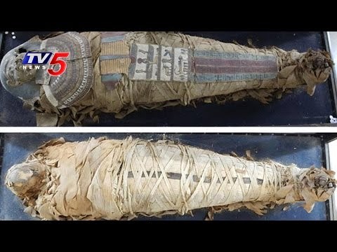 Egyptian Mummy at Hyderabad State Museum Undergoes Restoration | TV5 News