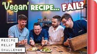 'VEGAN' Recipe Relay Challenge | Pass it On Ep.12