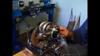 Masina za namotavanje konca oko niti