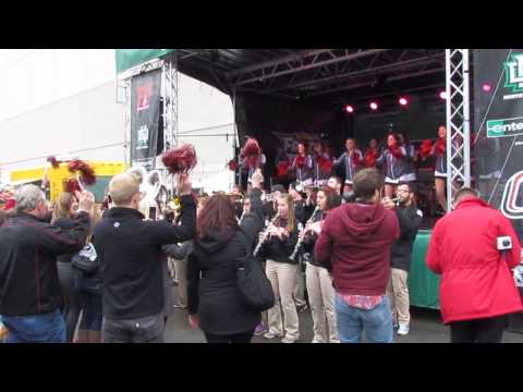 UNO Maverick Pep Rally - 2015 Frozen Four