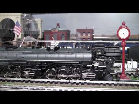 MTH Premier DM&IR Yellowstone (2-8-8-4) O-Gauge Steam Locomotive in True HD 1080p