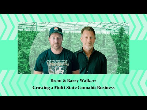 Brent & Barry Walker: Growing a Multi-State Cannabis Business